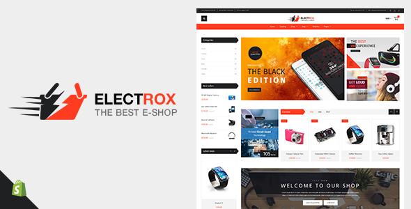 Electrox v1.2 — Electronics Shopify Theme