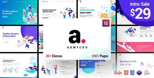 Agmycoo v1.1 — Isometric Creative Digital Agency