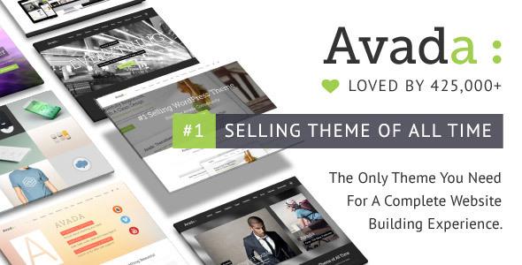 Avada v5.8 — Responsive Multi-Purpose Theme