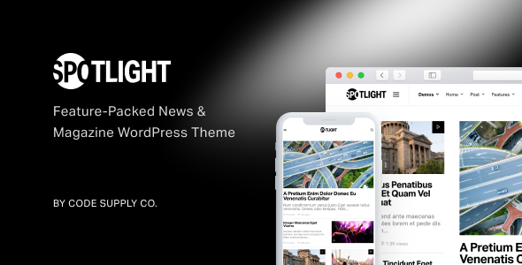 Spotlight v1.5.0 — Feature-Packed News & Magazine Theme