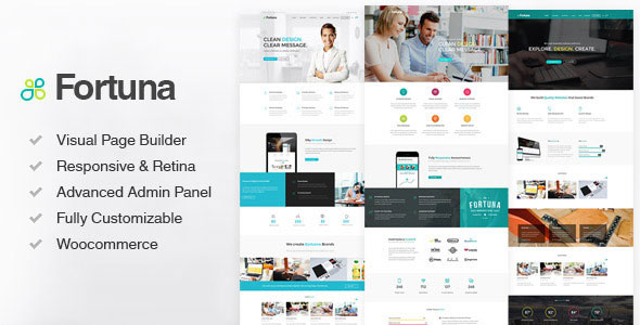 Fortuna v2.20 — Responsive Multi-Purpose WordPress Theme