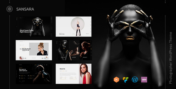 Sansara v1.1.0 — Photography WordPress Theme