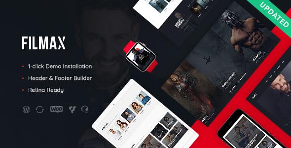 Filmax v1.0 — Movie Magazine WordPress Theme