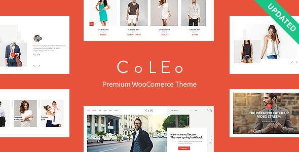 Coleo v1.0 — A Stylish Fashion Clothing Store Theme