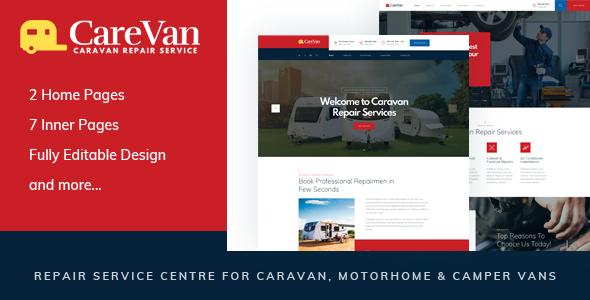 Carevan — Repair Service Centre for Caravan, Motorhome & Camper Vans