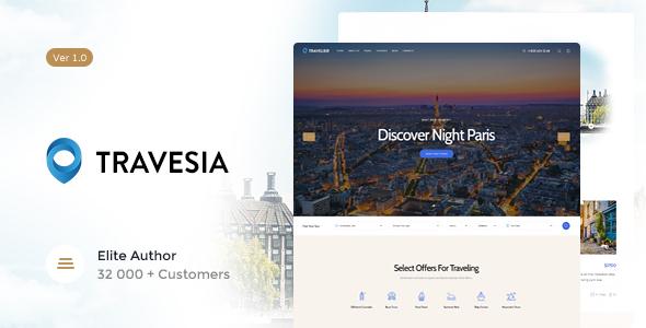 Travesia v1.1.2 — A Travel Agency WordPress Theme