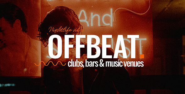 Offbeat v1.0 — Nightlife, Pubs & Concerts Theme