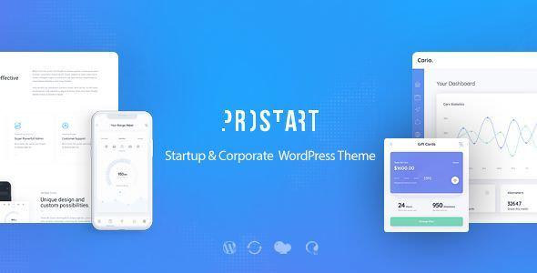 ProStart v1.1 — Startup & Corporate WordPress Theme