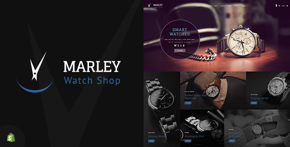 Marley v1.1 — Sectioned Watch Shopify Theme