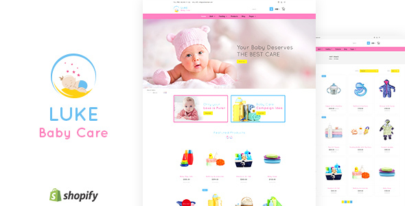 Luke v1.1 — Infants & Baby Care Store Shopify Theme