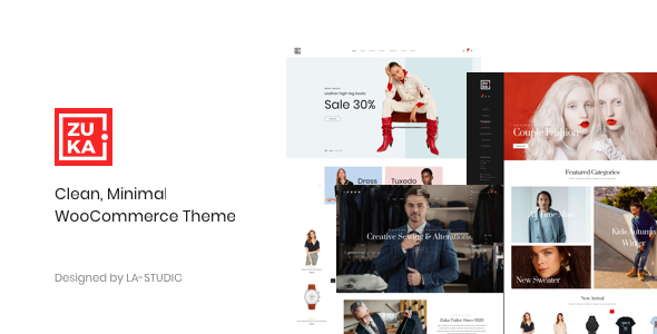 Zuka v1.0.3 — Clean, Minimal WooCommerce Theme