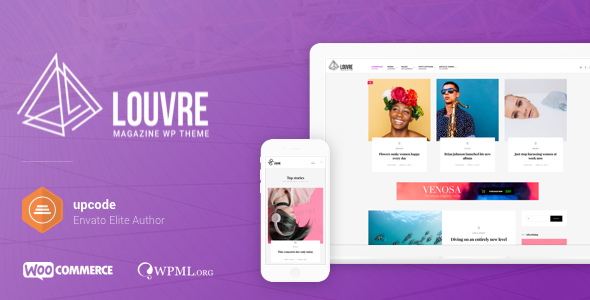 Louvre v1.0.8 — Minimal Magazine and Blog Theme