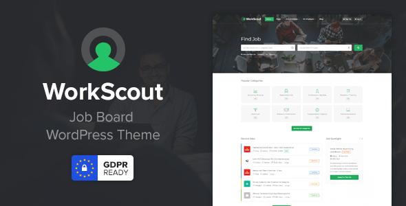 WorkScout v1.5.11 — Job Board WordPress Theme