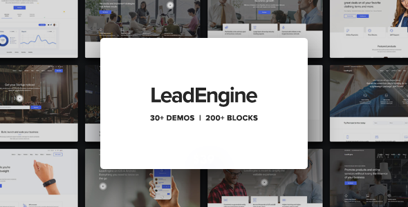 LeadEngine v1.7.1 — Multi-Purpose Theme with Page Builder