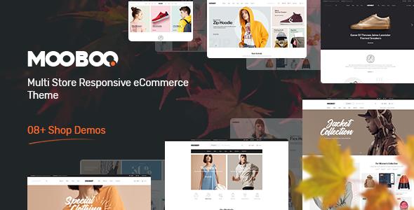 Mooboo v1.0.0 — Fashion Theme for WooCommerce WordPress