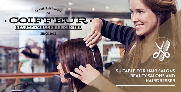Coiffeur v4.1 — Hair Salon WordPress Theme