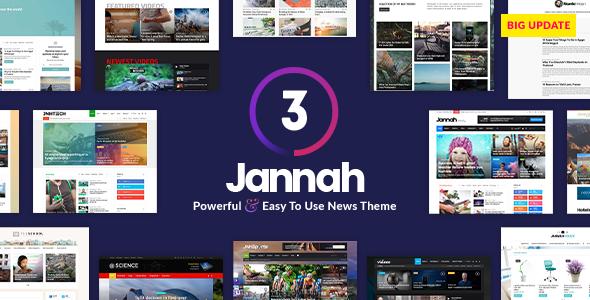 Jannah News v3.2.0 — Newspaper Magazine News AMP