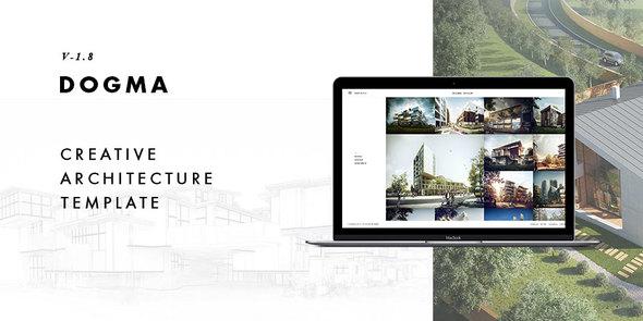 Dogma — Responsive Architecture Template