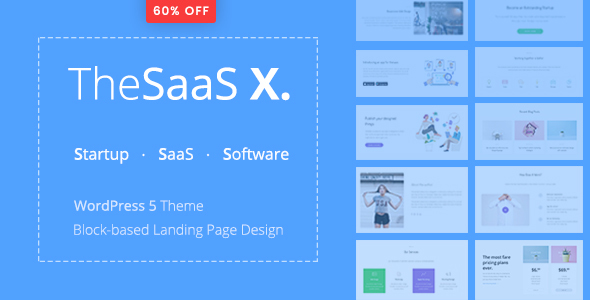 TheSaaS X v1.0.2 — Responsive SaaS, Startup & Business