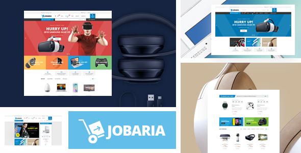 Jobaria — Responsive Prestashop Theme