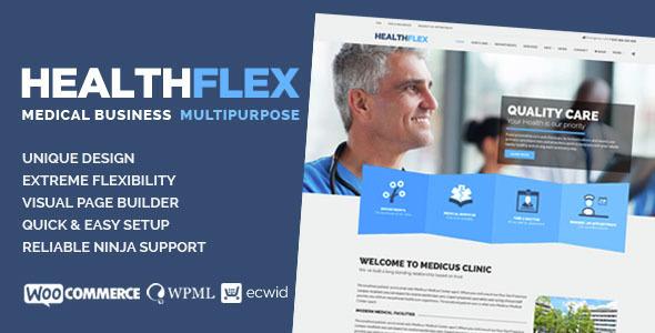 HEALTHFLEX v1.5.8 — Medical Health WordPress Theme