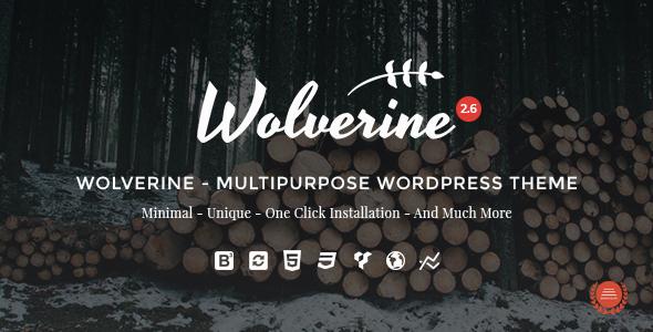 Wolverine v2.6 — Responsive Multi-Purpose Theme