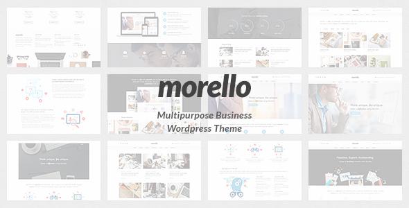 Morello v1.0.3 — Multipurpose Business WordPress Theme