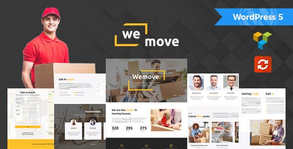 WeMove v1.1 — Home Moving & Logistic WordPress Theme