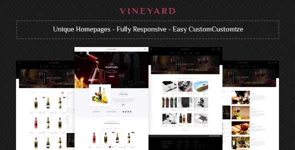 Vine Yard — HTML Template