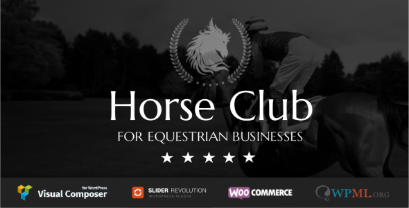 Horse Club v2.1 — Equestrian WordPress Theme