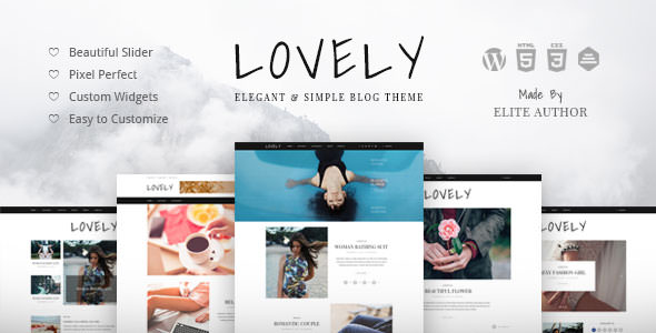 Lovely v1.0.8 — Elegant & Simple Blog Theme