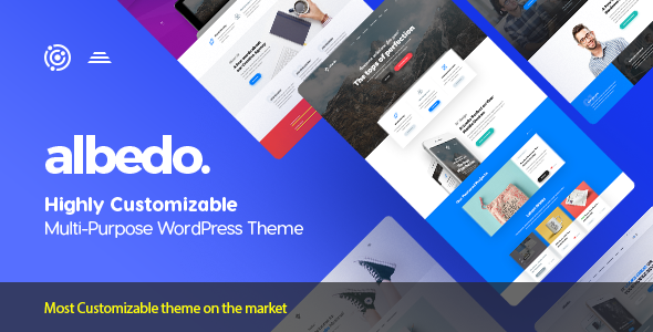 Albedo v1.0.33 — Highly Customizable Multi-Purpose Theme