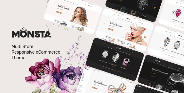 Monsta v1.0.1 — Jewelry Theme for WooCommerce WordPress