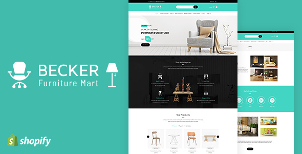 Becker v1.1 — Sectioned Furniture & Lights Shopify Theme