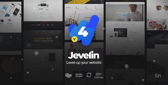 Jevelin v4.1.0 — Multi-Purpose Premium Responsive Theme