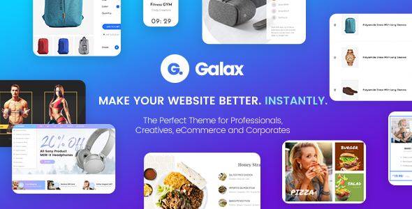 Galax v1.0 — Creative eCommerce Multi-Purpose Theme