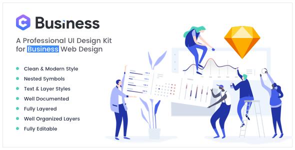 Yosemite — Business Sketch App Template