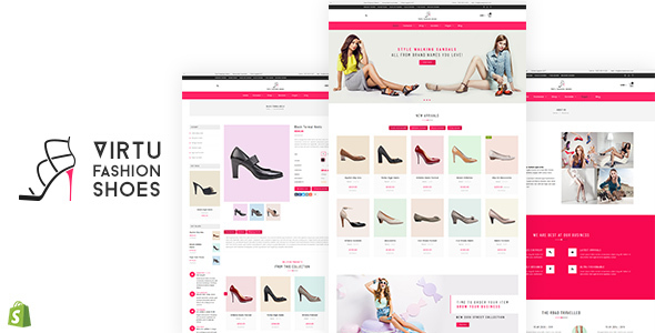 Virtu — Fashion Shoes Store Shopify Theme