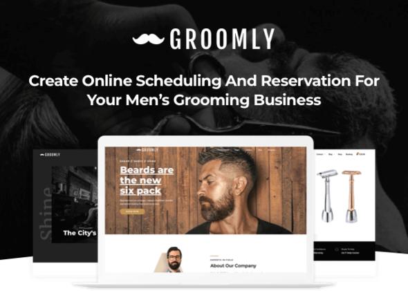 Groomly v1.1.6 — Men's Grooming Scheduling & Reservation