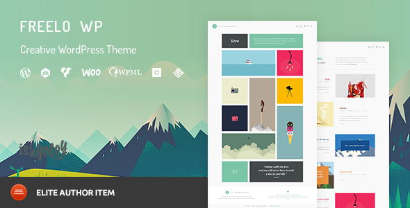 Freelo WP v1.8 — Creative WordPress Portfolio Theme
