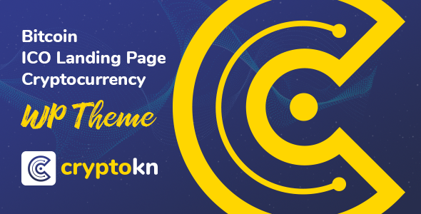 Cryptokn v1.1 — ICO Landing Page & Cryptocurrency Theme
