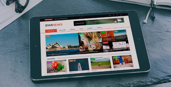 SymNews v1.2 — News & Magazine Drupal 8 Theme