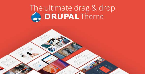 Pivot v1.1 — Drupal 8 Multipurpose Theme with Paragraph Builder