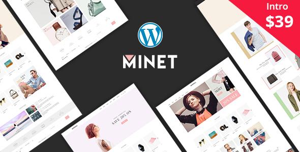 Minet v1.6 — Minimalist eCommerce WordPress Theme