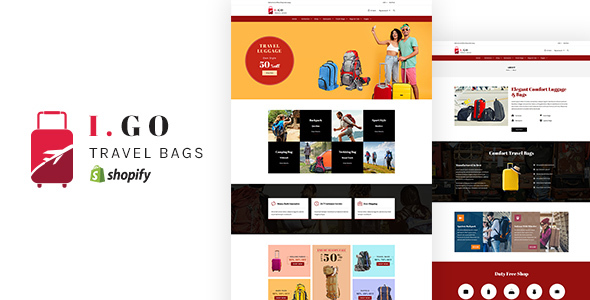 Igo v1.0 — Travel Bags Shopify Theme