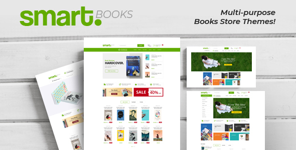 SmartBook — OpenCart Theme (Included Color Swatches)