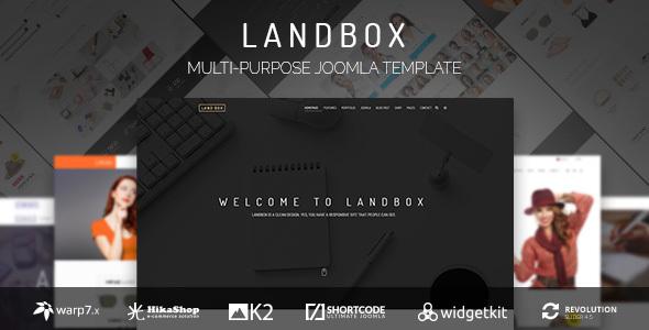 Landbox v1.3.5 — Multipurpose Joomla Template
