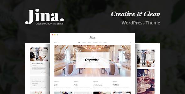 Jina v1.5 — Celebration Agency Theme