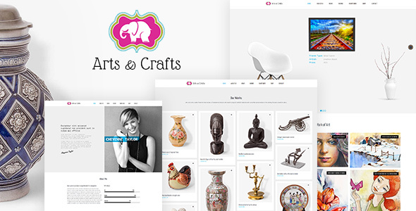 Crafts & Arts v1.3 — Artist Portfolio Theme