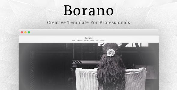 Borano v4.6 — Photography / Portfolio WordPress Theme